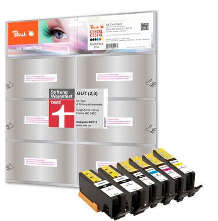 Combi PackPLUS n zu PGI-550/CLI-551 Tintenpatrone Peach 785300124669 Bild Nr. 1