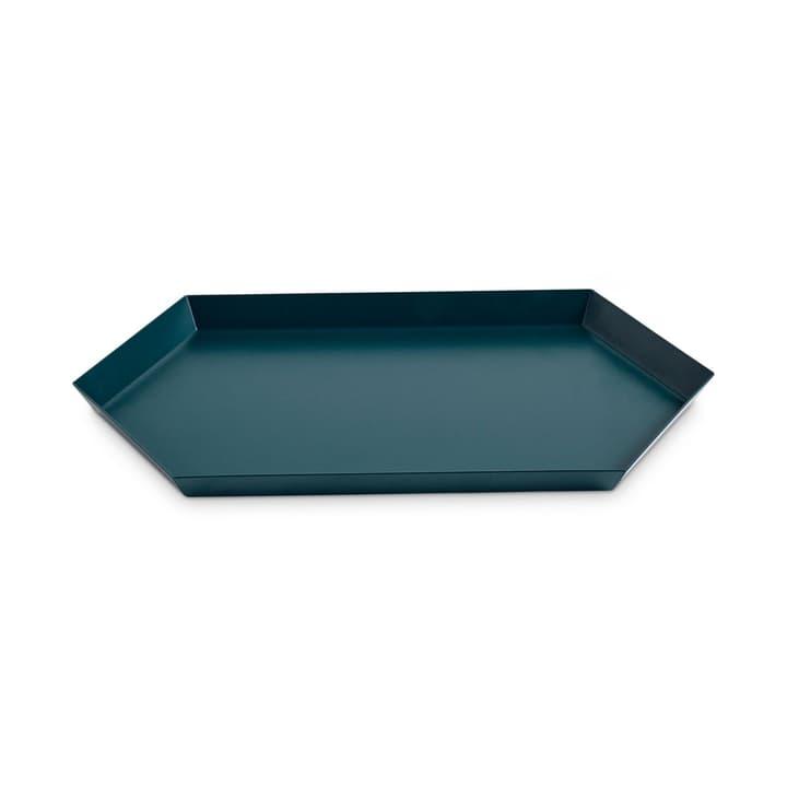 KALAIDO M Vassoio HAY 386294200000 Dimensioni P: 33.5 cm Colore Verde scuro N. figura 1