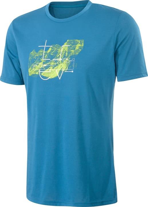 Yvan Herren-Kurzarmshirt Trevolution 465706100342 Farbe azur Grösse S Bild-Nr. 1