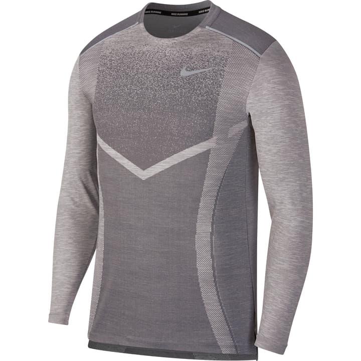 TechKnit Cool Ultra Shirt pour homme Nike 470190600580 Couleur gris Taille L Photo no. 1