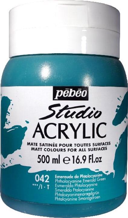 Pébéo High Viscosity Studio 500ml Pebeo 663534271042 Couleur Emeraude Photo no. 1