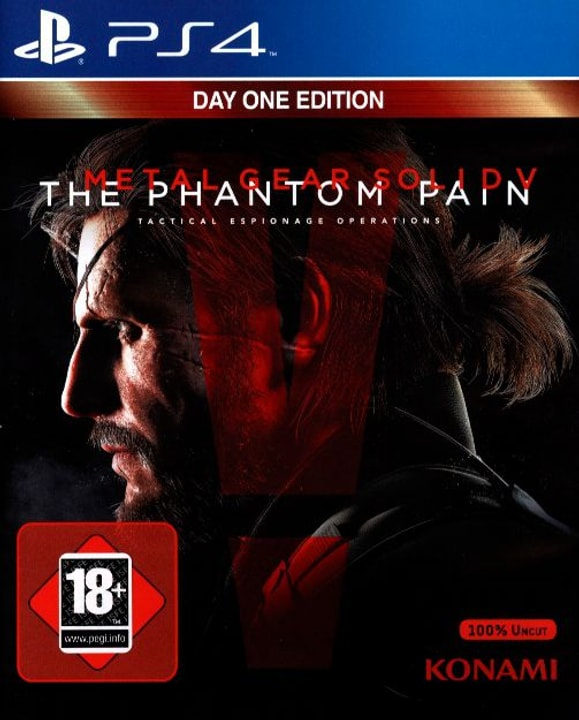 PS4 - Metal Gear Solid V: The Phantom Pain Physique (Box) 785300122025 Photo no. 1