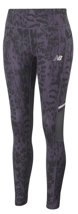Printed Impact Tight Leggins pour femme New Balance 470198900528 Couleur aubergine Taille L Photo no. 1