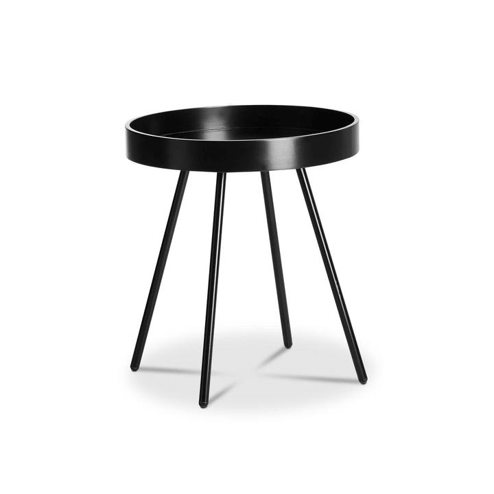 MIKA Tavolino 362081600000 Dimensioni L: 45.0 cm x P: 45.0 cm x A: 50.0 cm Colore Nero N. figura 1