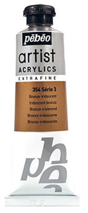 Acrylic EF 37 ml Pebeo 663569300000 Colore Bronze iridescent N. figura 1