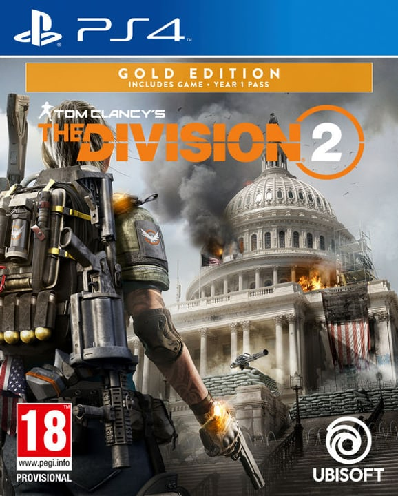 PS4 - Tom Clancy's The Division 2 - Gold Edition Box 785300141448 N. figura 1