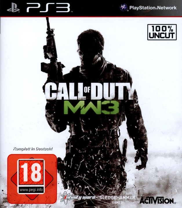 PS3 - Call of Duty - Modern Warfare 3 Physique (Box) 785300121569 Photo no. 1