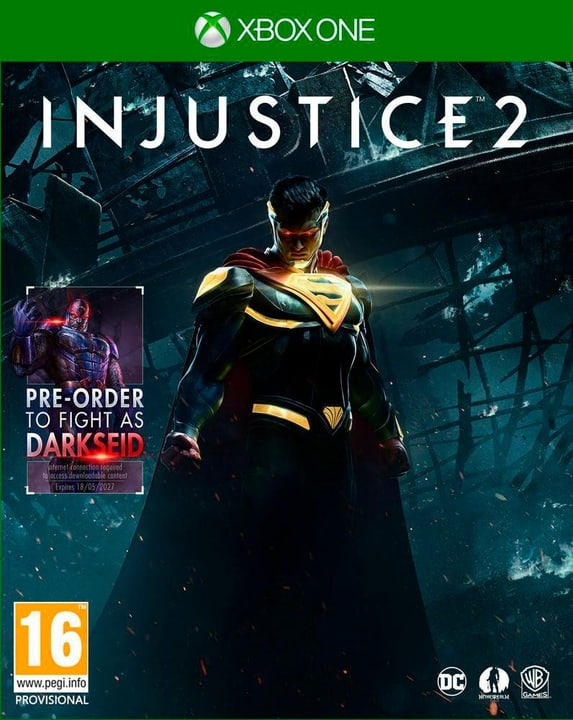 Xbox One - Injustice 2 Physisch (Box) 785300121801 Bild Nr. 1