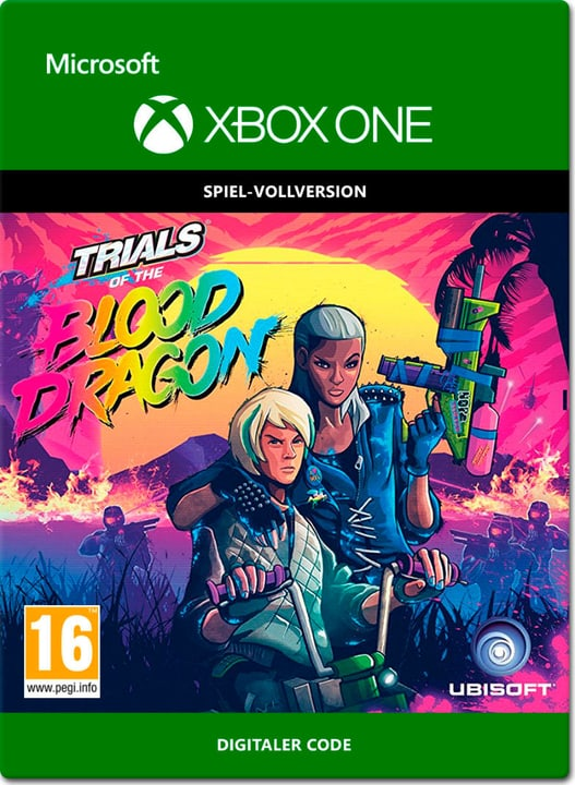 Xbox One - Trials of the Blood Dragon Download (ESD) 785300138661 Bild Nr. 1