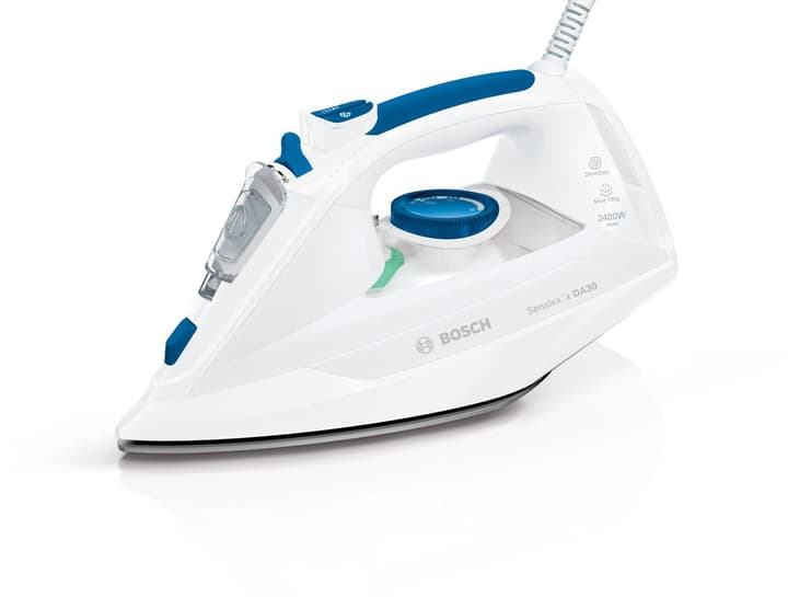 Fer à vapeur TDA302401W Blanc Bleu Fer à vapeur Bosch 785300134858 N. figura 1