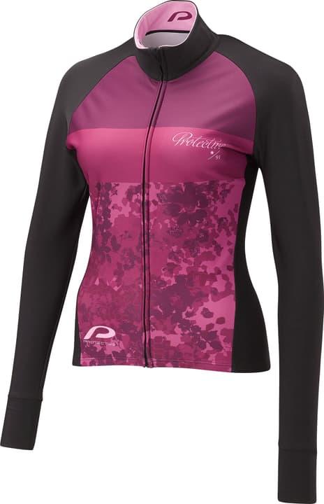 P-FLOWERS Maillot à manches longues pour femme Protective 461381803617 Couleur framboise Taille 36 Photo no. 1
