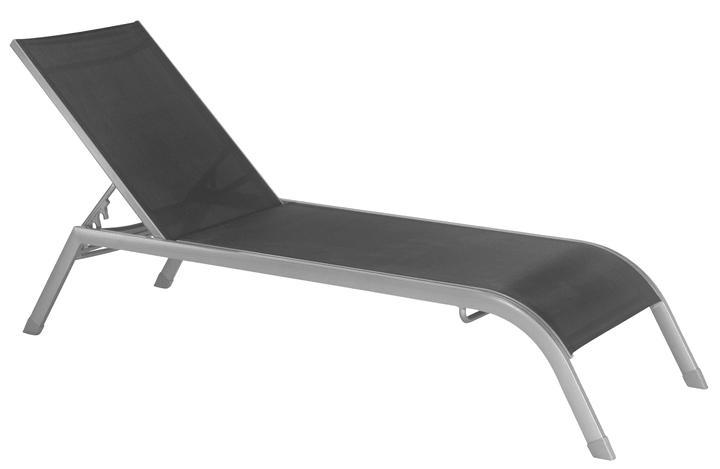 TENERIFFA Chaise longue 753142600020 Couleur de l'habillage Noir Taille L: 208.0 cm x L: 63.0 cm x H: 34.0 cm Photo no. 1