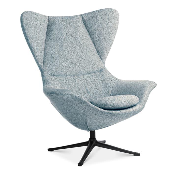 BAYA Sessel, Fuss schwarz 360435407041 Farbe Hellblau Grösse B: 90.0 cm x T: 90.0 cm x H: 112.0 cm Bild Nr. 1