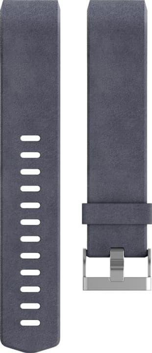 Charge 2 Cinturino in pelle Indaco Large Fitbit 785300131183 N. figura 1