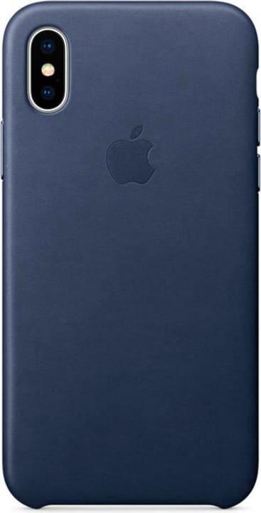 iPhone X Leather Case Midnight Blue Apple 785300130118 N. figura 1