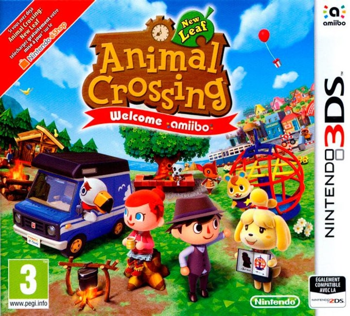3DS - Animal Crossing: New Leaf - Welcome amiibo 785300122146 Photo no. 1