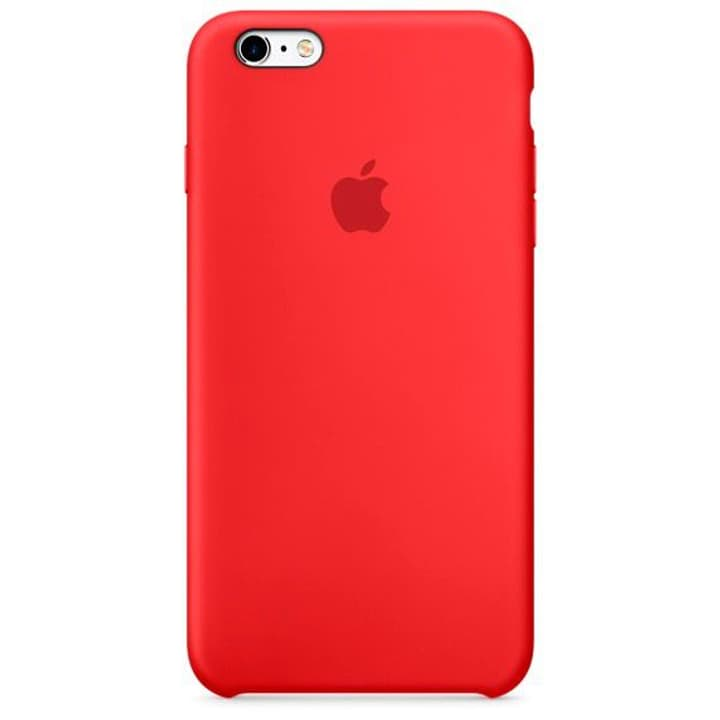 Silicone Case iPhone 6s Plus rot Hülle Apple 785300125189 Bild Nr. 1