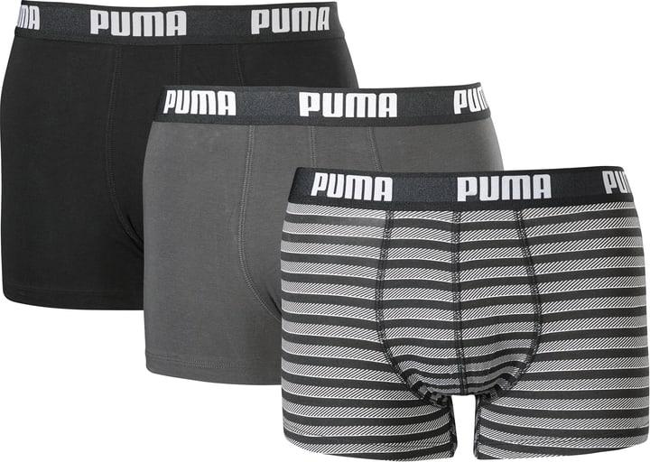 Boxer Shorts Boxers pour homme, en lot de 3 Puma 497174100520 Couleur noir Taille L Photo no. 1