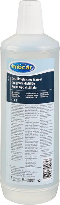 Destillatgleiches Wasser 1L Miocar 620181900000 Bild Nr. 1