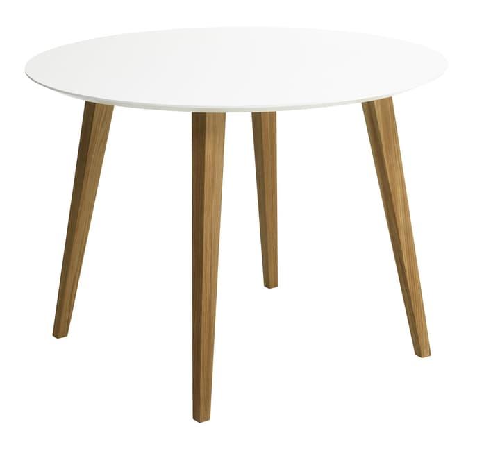 NOSTRO Table 402235100000 Dimensions L: 110.0 cm x P: 110.0 cm x H: 74.0 cm Couleur Blanc Photo no. 1