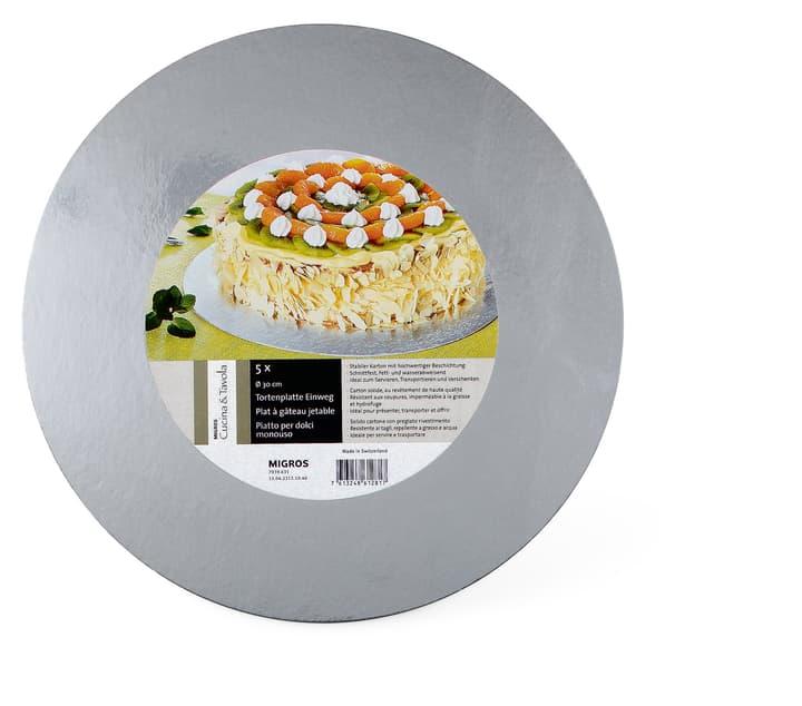 Piatto per dolci monouso 30cm Cucina & Tavola 703963100000 N. figura 1