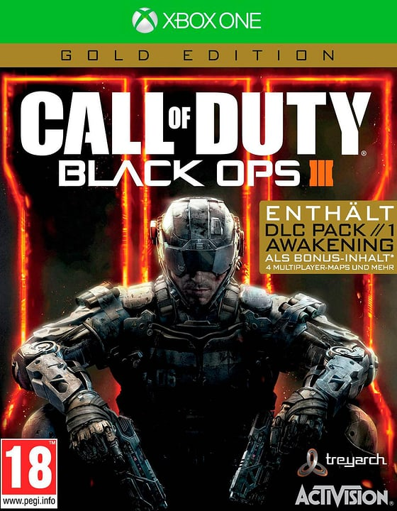 Xbox One - Call of Duty: Black Ops III Gold (D) Box 785300133095 Photo no. 1