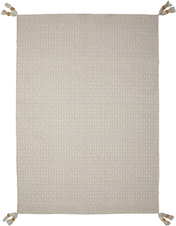 LATOYA Tapis 412015712081 Couleur gris clair Dimensions L: 120.0 cm x P: 170.0 cm Photo no. 1