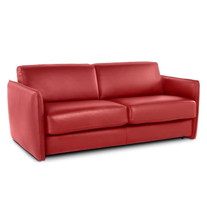 NAIMO 3er Bettsofa 360096000000 Farbe Rot Grösse B: 160.0 cm x T: 192.0 cm Bild Nr. 1
