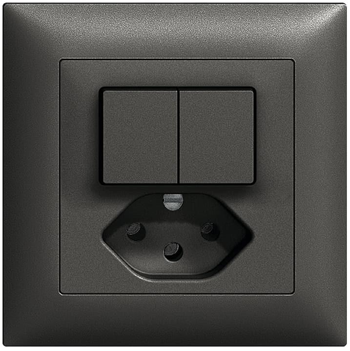 Edizio Due UP 1xT13 Combinazione piccola Feller 612191100000 N. figura 1