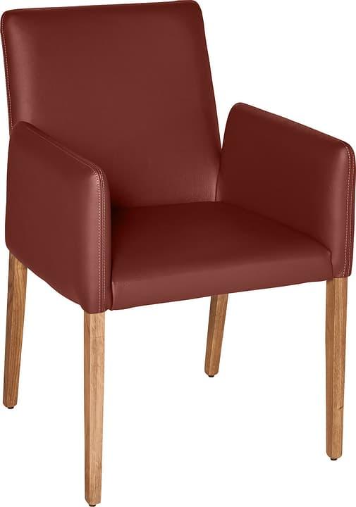 PIRAS Chaise 402358000033 Dimensions L: 58.0 cm x P: 55.0 cm x H: 86.0 cm Couleur Rouge foncé Photo no. 1
