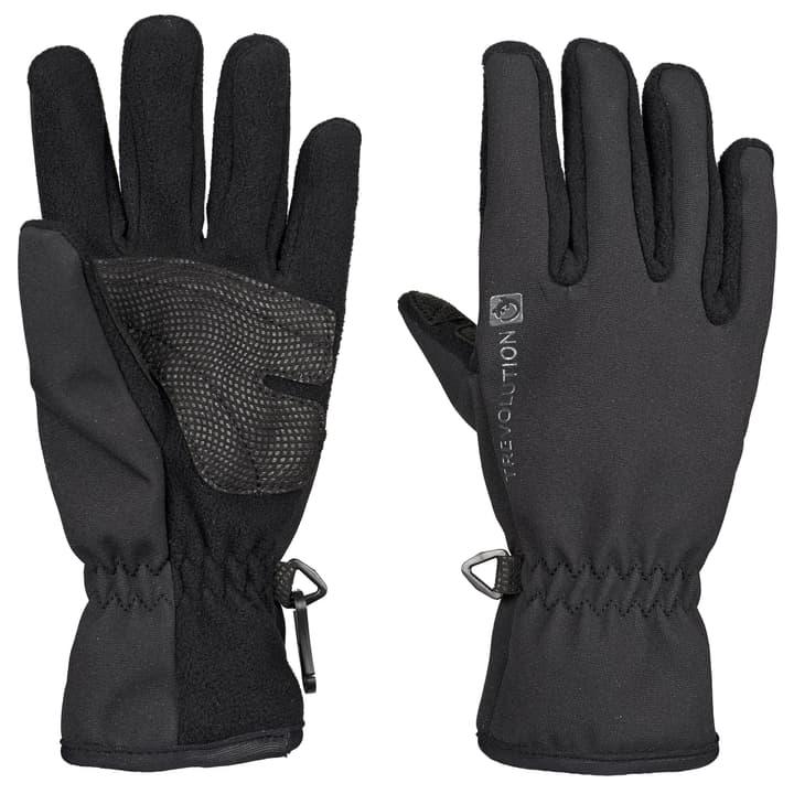 KInder-Softshell-Handschuh Trevolution 462833704520 Farbe schwarz Grösse 4.5 Bild-Nr. 1