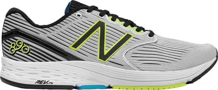 890v6 Chaussures de course pour homme New Balance 492811841510 Couleur blanc Taille 41.5 Photo no. 1