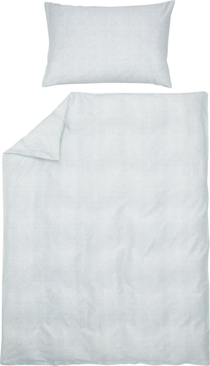 BRETO Federa per cuscino raso 451306910641 Colore Azzurro Dimensioni L: 65.0 cm x A: 65.0 cm N. figura 1
