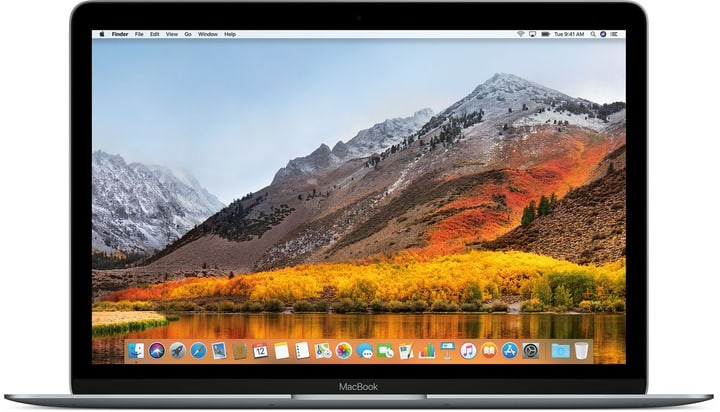 CTO MacBook 12'' 1.4GHz i7 16GB 512GBSSD Space Gray Apple 798425000000 Bild Nr. 1