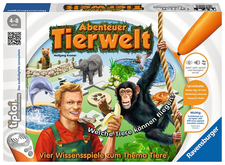 Tiptoi Abenteuer Tierwelt (D) 746933690000 Lengua Tedesco N. figura 1