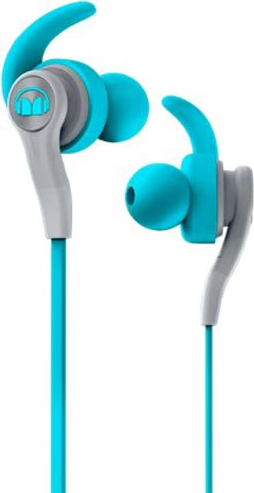 iSport Compete - Bleu Casque In-Ear Monster 785300126554 Photo no. 1