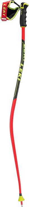 Super G - Downhill Bastoncino da sci da adulto Leki 493930812530 Colore rosso Lunghezza 125 N. figura 1