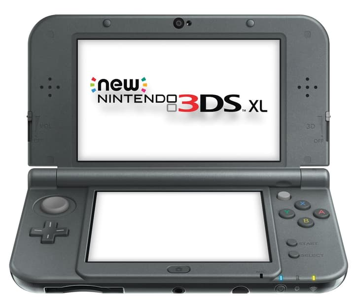NEW 3DS XL Metal Black Nintendo 785427300000 N. figura 1