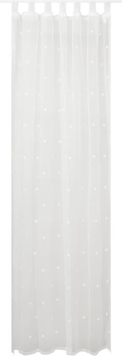 NELE Rideau prêt à poser jour 430273321810 Couleur Blanc Dimensions L: 150.0 cm x H: 260.0 cm Photo no. 1