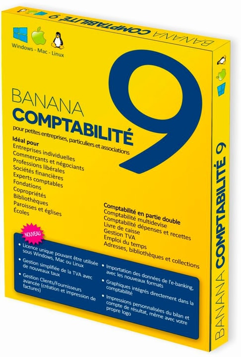 Banana PC/Mac - Banana Accounting 9 Physique (Box) 785300131691 Photo no. 1
