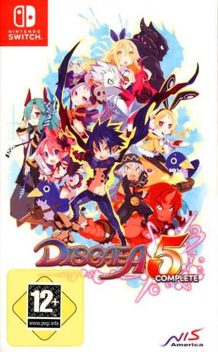 Switch - Disgaea 5 Complete Box 785300122104 Photo no. 1