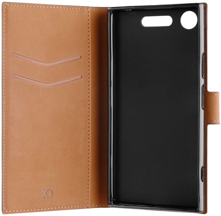 Slim Wallet Case Xperia XZ1 nero Custodia XQISIT 785300132490 N. figura 1