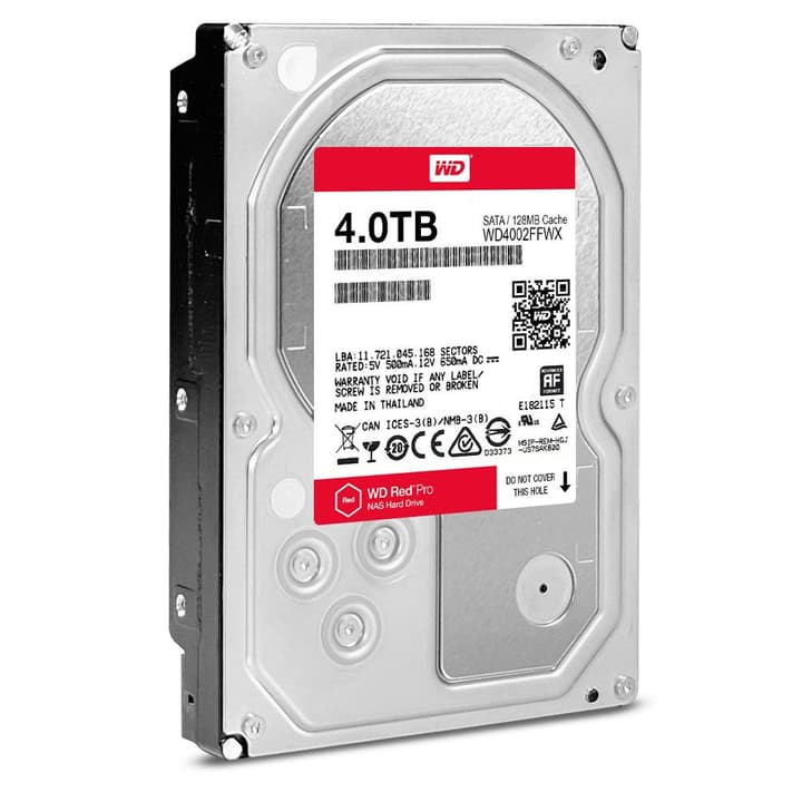 "disque dur interne Red PRO 4To NAS SATA 3.5"" Western Digital 785300124401 Photo no. 1"