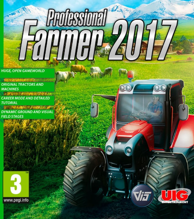 PC - Professional Farmer 2017 Download (ESD) 785300133900 Photo no. 1