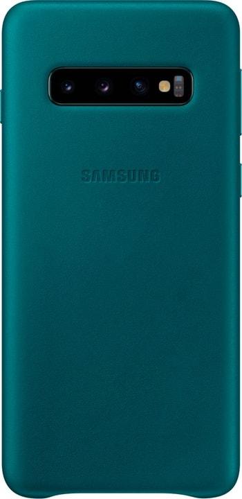 Leather Cover Green Custodia Samsung 785300142452 N. figura 1