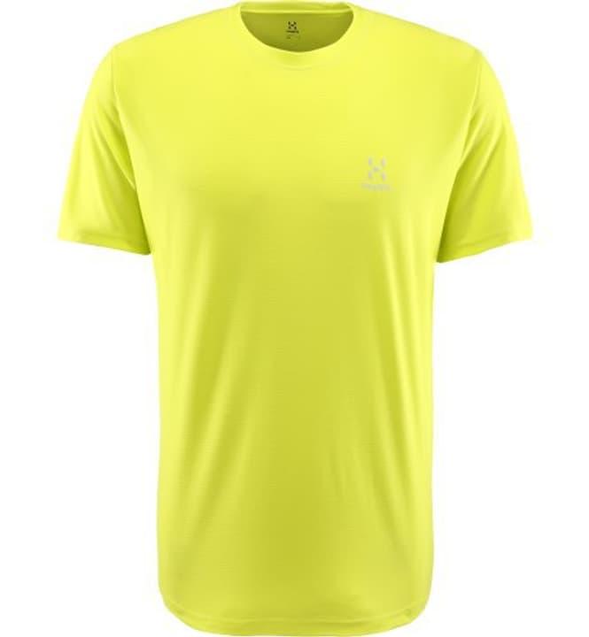 L.I.M Tech Maillot à manches courtes pour homme Haglöfs 462782000355 Couleur jaune néon Taille S Photo no. 1