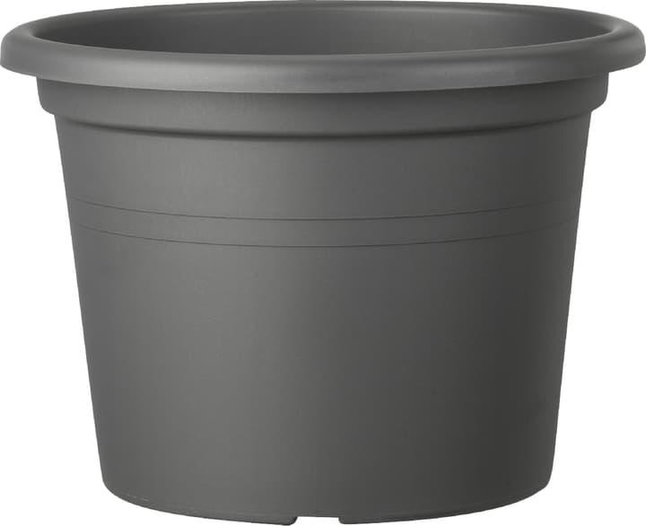 Vaso per piante Geo Deroma 659418400000 Taglio ø: 20.0 cm x A: 14.2 cm Colore Antracite N. figura 1