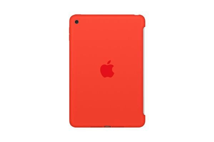 iPad mini 4 Case Orange Silicone Apple 797879700000 Bild Nr. 1