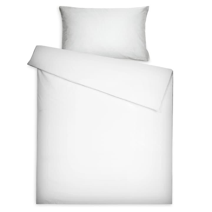 MALIK Federa per cuscino raso 376008239503 Colore Grigio chiaro Dimensioni L: 100.0 cm x L: 65.0 cm N. figura 1