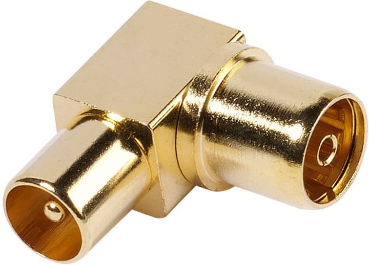 48/00 09G Adaptateur d'angle coaxial Vivanco 770823500000 Photo no. 1